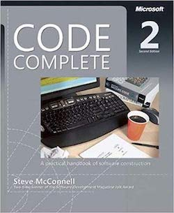 Cover from Code Complete 2 by Steve McConnell